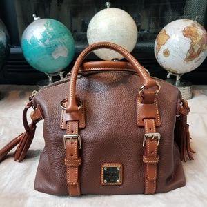 Gorgeous Dooney & Bourke Leather Satchel - Medium